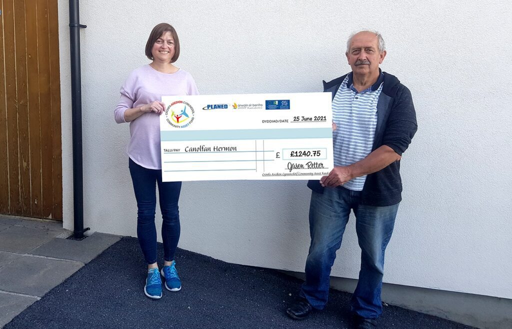 Canolfan Hermon receive generous payout