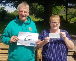 Lottery Win in Llanfyrnach
